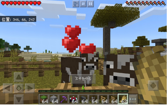 牧場を作る
